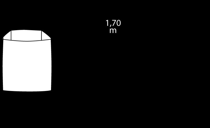 Containerdienst Containermaße: 0,90 x 1,10 x 0,90