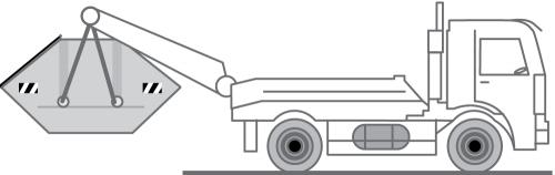 Fahrzeug LKW für Absetzmulden zur Entsorung / Container Transport