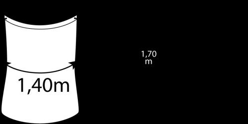 Containerdienst Containermaße: 0,45 x 2,20 x 0,45
