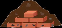 Containerdienst für Boden & Bauschutt Gemisch (unbelastet) online bestellen