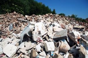 Bau & Abbruch Abfälle entsorgen Containerdienst