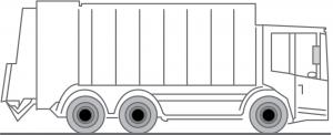Fahrzeug LKW für Umleerbehälter und Hecklader zur Entsorgung / Container Transport