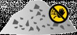 Mulde / Container für Bauschutt mineralisch (nicht verwertbar) online bestellen
