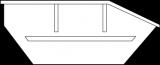 Mulde 10m³ (Asymmetrisch) online bestellen