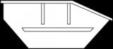 Mulde 4m³ (Asymmetrisch) online bestellen