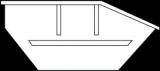Mulde 5m³ (Asymmetrisch) online bestellen